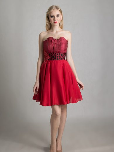 constructional bustier dress