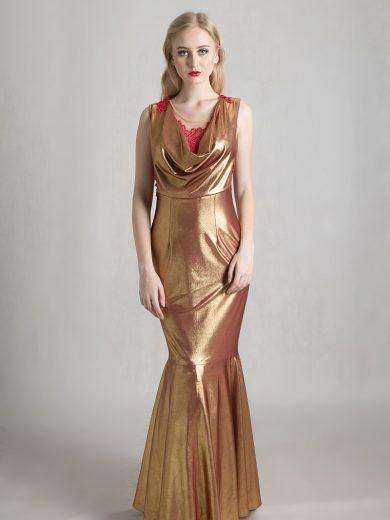drappery dress