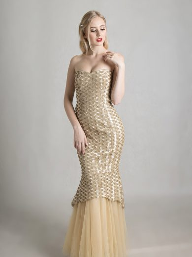 champagne-color-dress