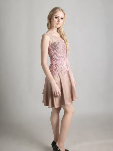 chocolate-pink-dress