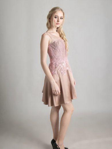 chocolate-pink-dress