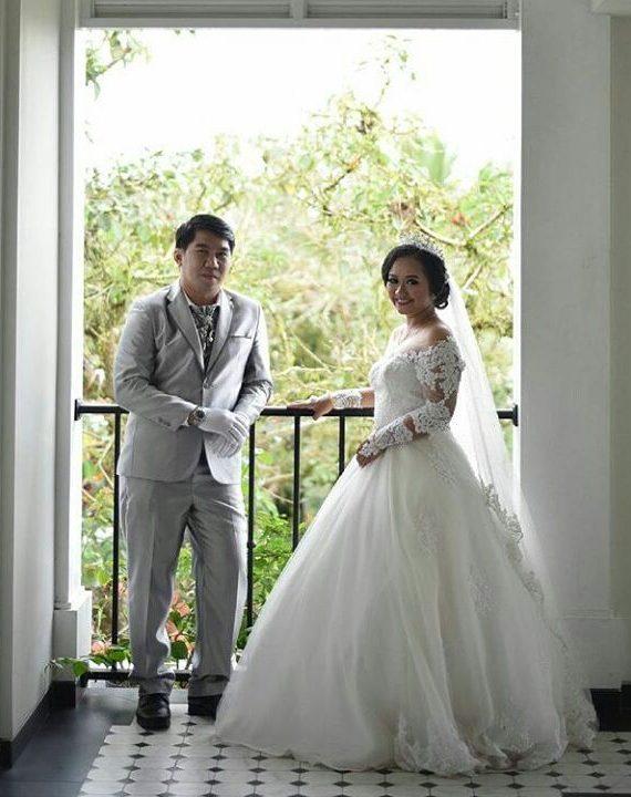 gaun-pengantin-ballgown