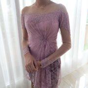 dusty purple kebaya modern