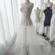 bustier dress by ivone sulistia fashion designer