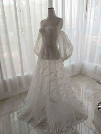 gaun karya ivone sulistia fashion designer