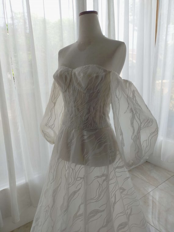sewa gaun pesta jakarta karya ivone sulistia fashion designer