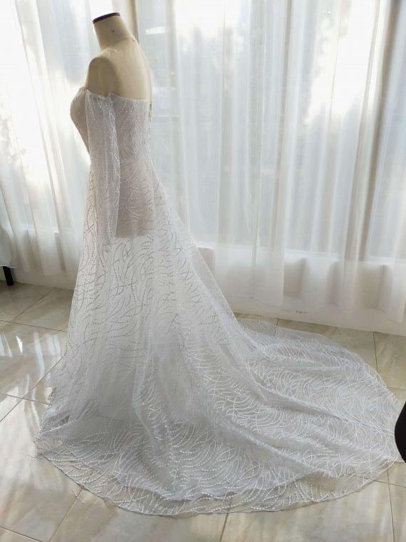 jahit sewa gaun pengantin di tangerang karya ivone sulistia