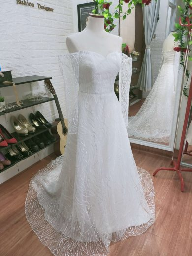 wedding dress sewa tangerang