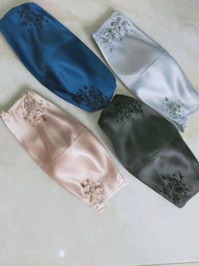 masker bordir by ivone sulistia fashion designer